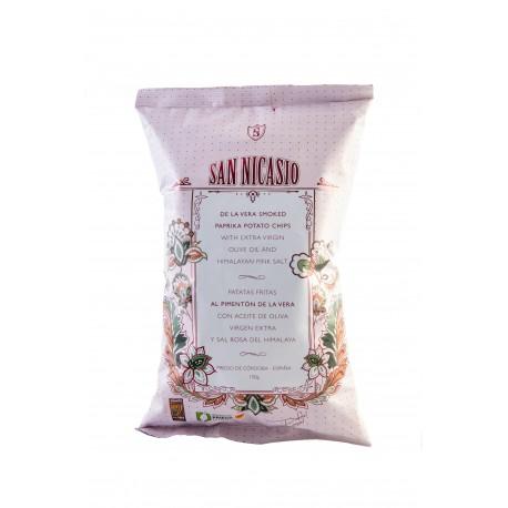 San Nicasio Smoked Paprika Flavour Chips - 14 x 150g (case)